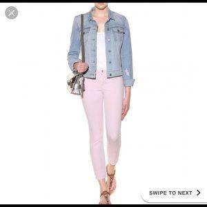 J Brand 'Rail' Mid Rise Crop Jeans